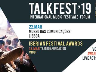 Talkfest: A edição 2019 começa amanhã em Vigo com a gala dos Iberian Festival Awards. Faça parte!