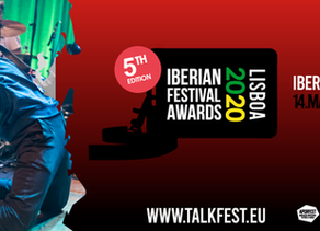 Iberian Festival Awards 2020    Known the jury panel for the 5th edition (Portugal, Spain and Intern