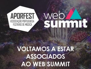 Web Summit - Aporfest novamente presente e com convites para uma das tertúlias noturnas
