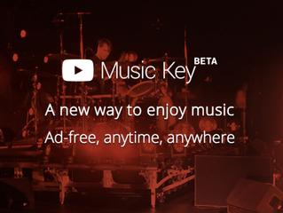 Music Key, a nova plataforma  de streaming de música  pelo YouTube