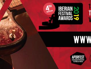Iberian Festival Awards 2019: vencedores serão conhecidos já na próxima 4ª feira