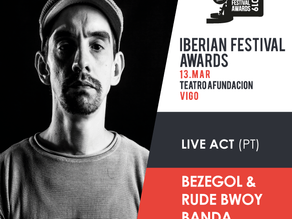 Iberian Festival Awards: news for the 4th edition that will occur on March 13 (Vigo)