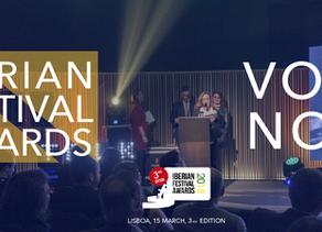 Nominees for the Iberian Festival Awards 2018