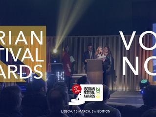 Conhecidos os nomeados para os Iberian Festival Awards 2018