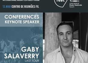 TALKFEST'20   Last Tour Marketing Director (e.g. Bilbao BBK Live, Bime, Azkena Rock Fest) is another