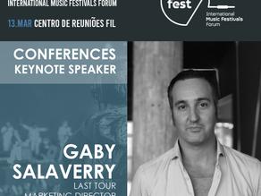 TALKFEST'20 | Last Tour Marketing Director (e.g. Bilbao BBK Live, Bime, Azkena Rock Fest) is another