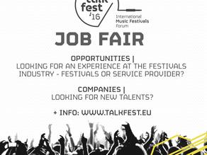 Talkfest'16: job fair