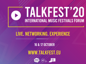 TALKFEST and IBERIAN FESTIVAL AWARDS 2020: new dates confirmed - online version