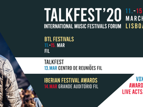 TALKFEST and IBERIAN FESTIVAL AWARDS 2020 | First news and speakers, applications, date and venue