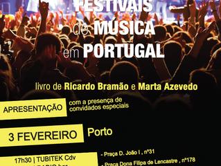 Apresentação do livro Festivais de Música em Portugal no Porto