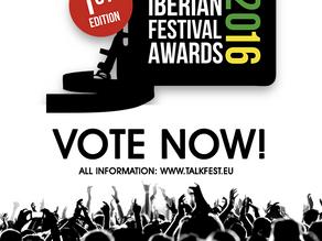 IBERIAN FESTIVAL AWARDS – Public Voting Now Open!
