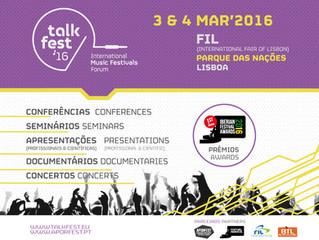 Talkfest + Iberian Festival Awards: novidades e novo site disponível