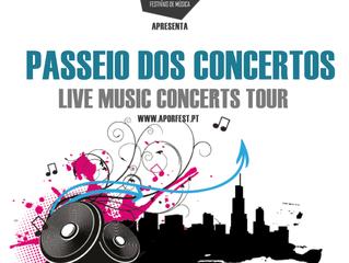 Passeio dos Concertos /  Live Music Concerts Tour