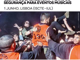 Gestão de emergência / Plano de segurança para eventos musicais (4ª edição - 1 de junho, Lisboa) | M