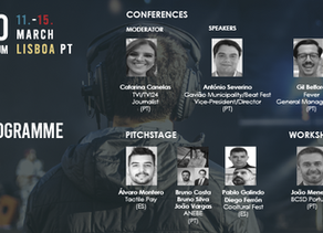 TALKFEST'20   Sixth  wave of speakers confirmed  for the conferences; 2nd Portuguese live act announ