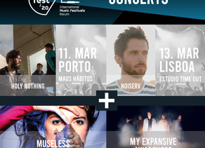 TALKFEST'20   Concerts in Lisboa and Porto with Noiserv, Holy Nothing, Museless and My Expansive Awa