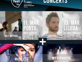 TALKFEST'20 | Concertos em Lisboa e Porto com Noiserv, Holy Nothing, Museless e My Expansive Awa