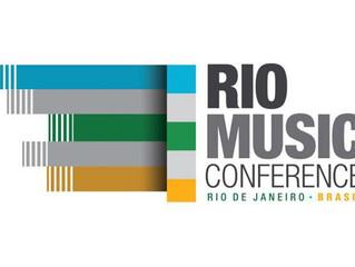 Dois promotores portugueses na Rio Music Conference, via APORFEST