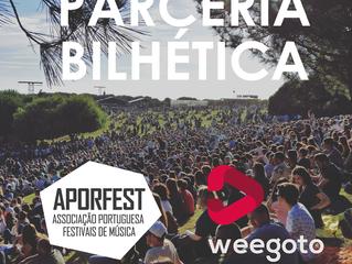 Weegoto e Aporfest estabelecem parceria de bilhética com vantagens para associados