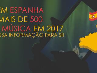 Mais de 500 festivais em Espanha e possibilidade de internacionalização de marcas, serviços e artist