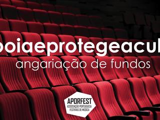 #apoiaeprotegeacultura | Angariação de Fundos