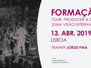 Music Festivals Training: Tour, Producer & Stage Manager [13.abr.19 - Lisboa]