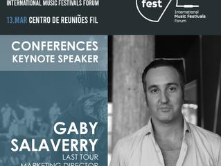 TALKFEST'20 |  Diretor de marketing Last Tour (e.g. Bilbao BBK Live, Bime, Azkena Rock Fest) é m