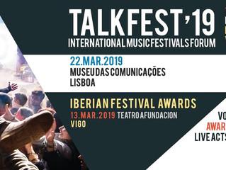 Talkfest & Iberian Festival Awards 2019: datas, novidades e locais