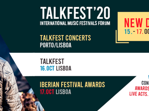 TALKFEST AND IBERIAN FESTIVAL AWARDS 2020 | New dates