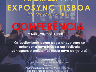Exposync Lisboa (26 a 29 maio 2018) - esteja connosco neste salão profissional!
