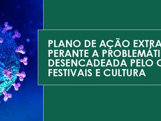 Sugestão de Plano de Ação perante a problemática Covid-19 // Festivais e Indústria Músical