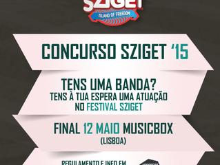 Concurso de bandas Sziget 2015 [atualização]