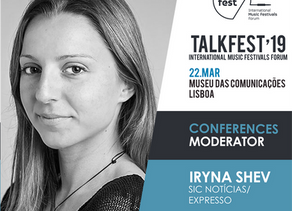 Talkfest'19: first speakers and live act