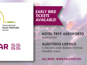TALKFEST | The 10th edition will take place on March 25th and 26th, with a professional day, concert