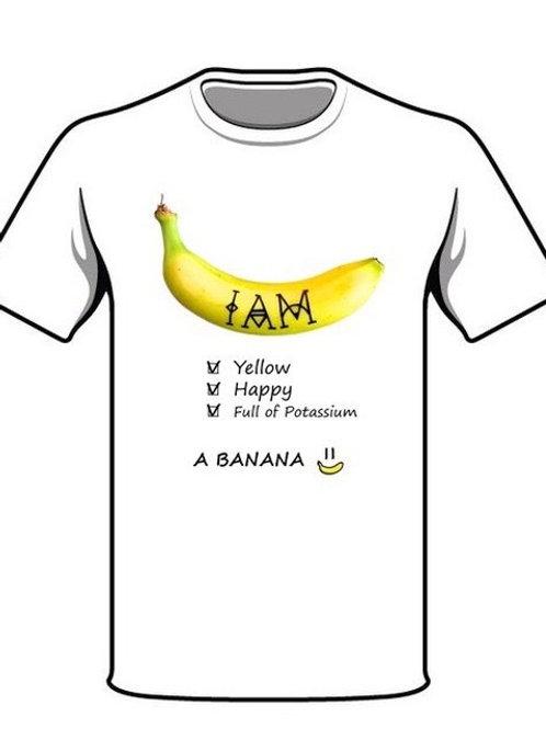 I AM - Banana T-Shirt