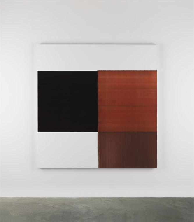 卡拉莫·伊尼斯 画曝湖红 2014 亚麻布油画 180 x 175 cm