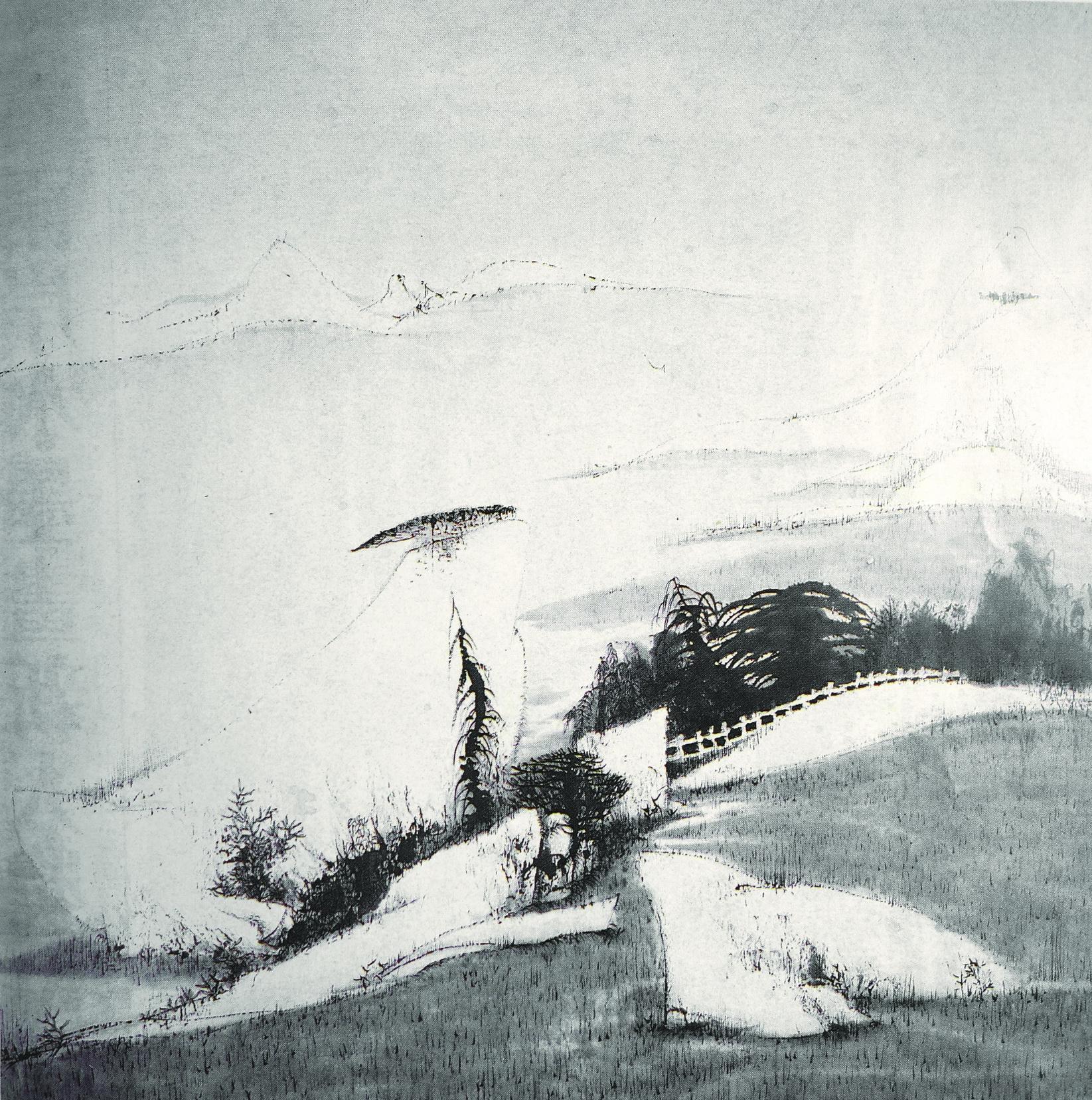 [天梦] 68x68 .1988年 .中国水墨新人奖大奖DSC04210_副本