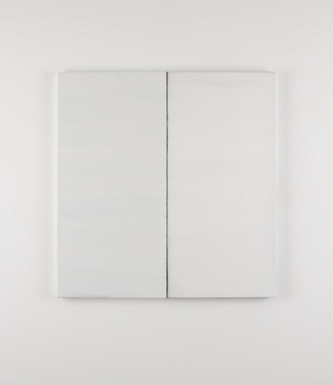 卡拉莫·伊尼斯 无题 No.18 2012 布面油画 125 x 121 cm(2)
