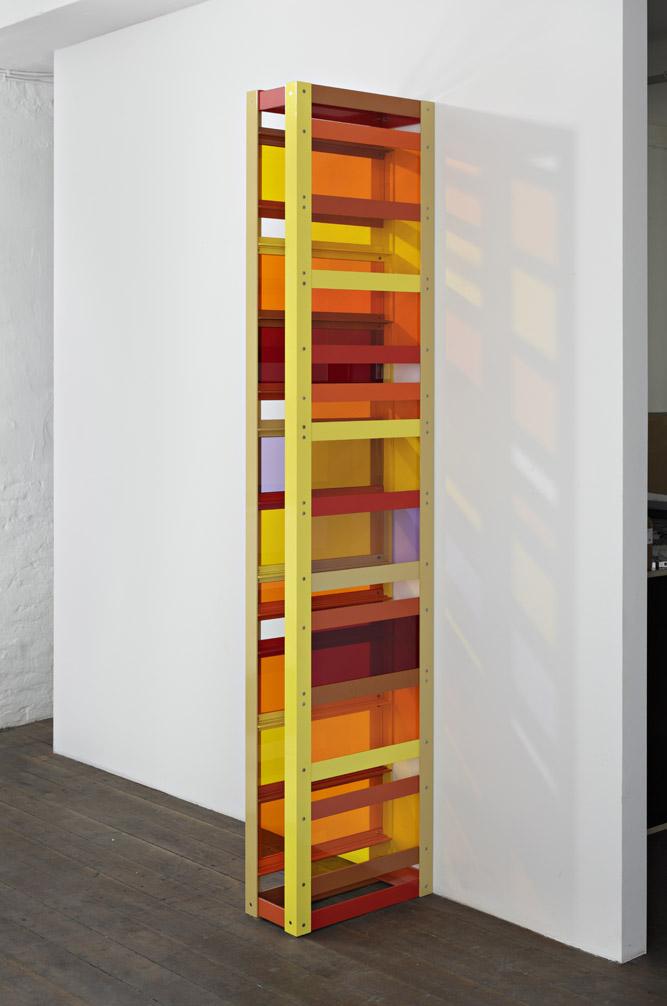 里亚姆·杰力珂 磋商的崩溃 2010 铝粉涂层,有机玻璃,独版,镶墙屏风结构 230 x 50 x 20 cm