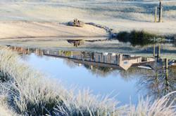 Upper Vobster Farm reflections