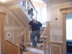 installing stair railings
