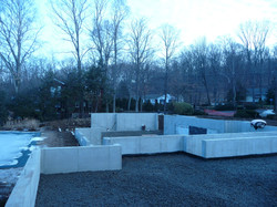 foundation ready for concrete