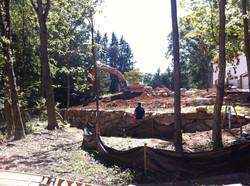 Building Retaining Wall
