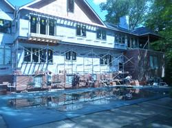 install brick on custom home
