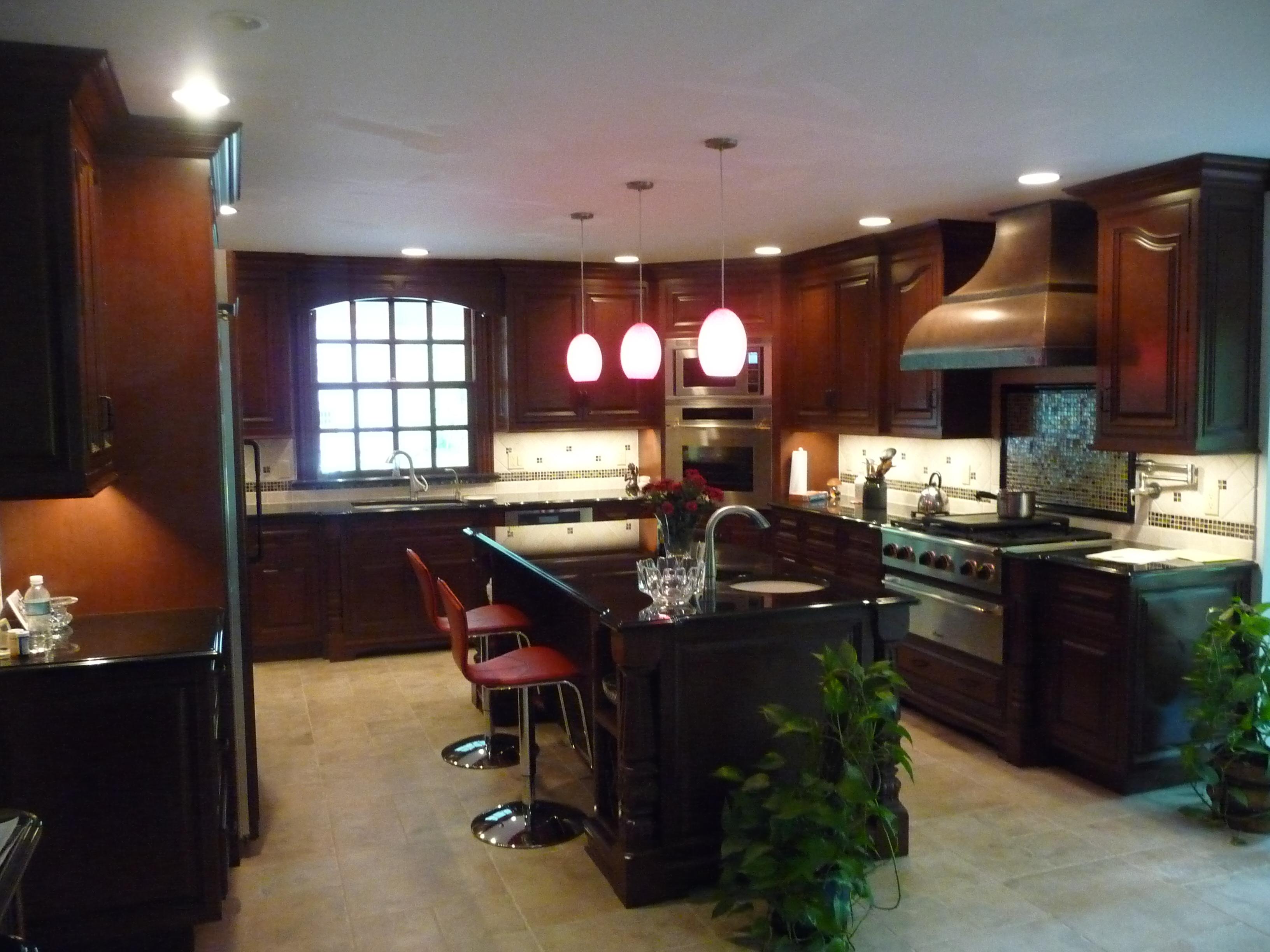 completed kitchen reniovation