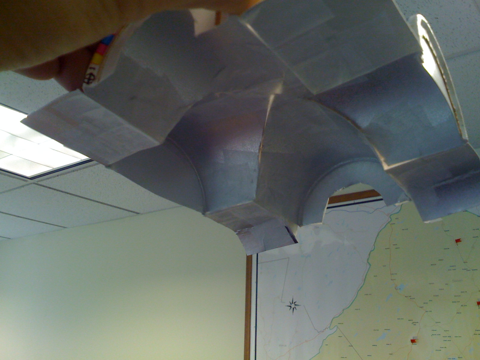 model of custom ceiling