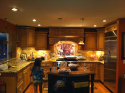 Custom Kitchen Completed Renovation Wayne NJ