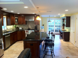 Custom Kitchen Completed Renovation Oakland NJ