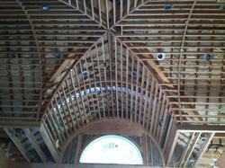 high ceiling rough framing