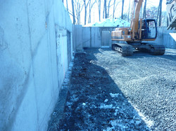 excavation for new home foundation